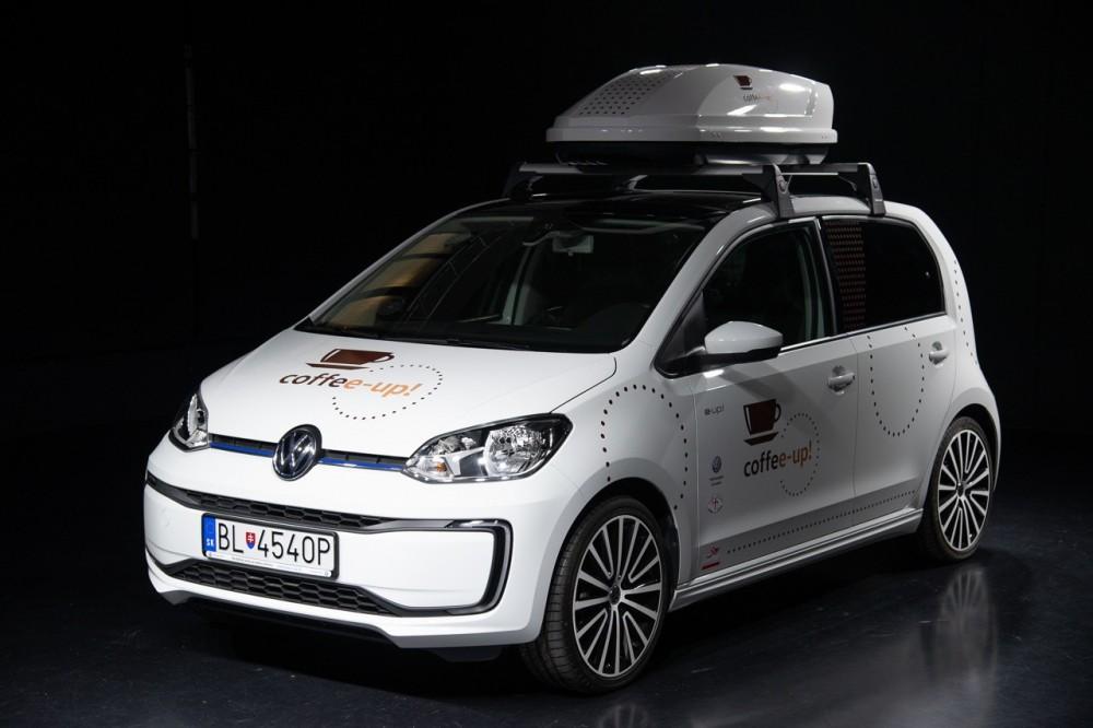 Volkswagen vás na bratislavskom autosalóne ponúkne kávou z VW coffee-up!